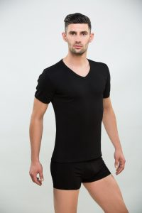 Rövid ujjú férfi póló 100% pamut